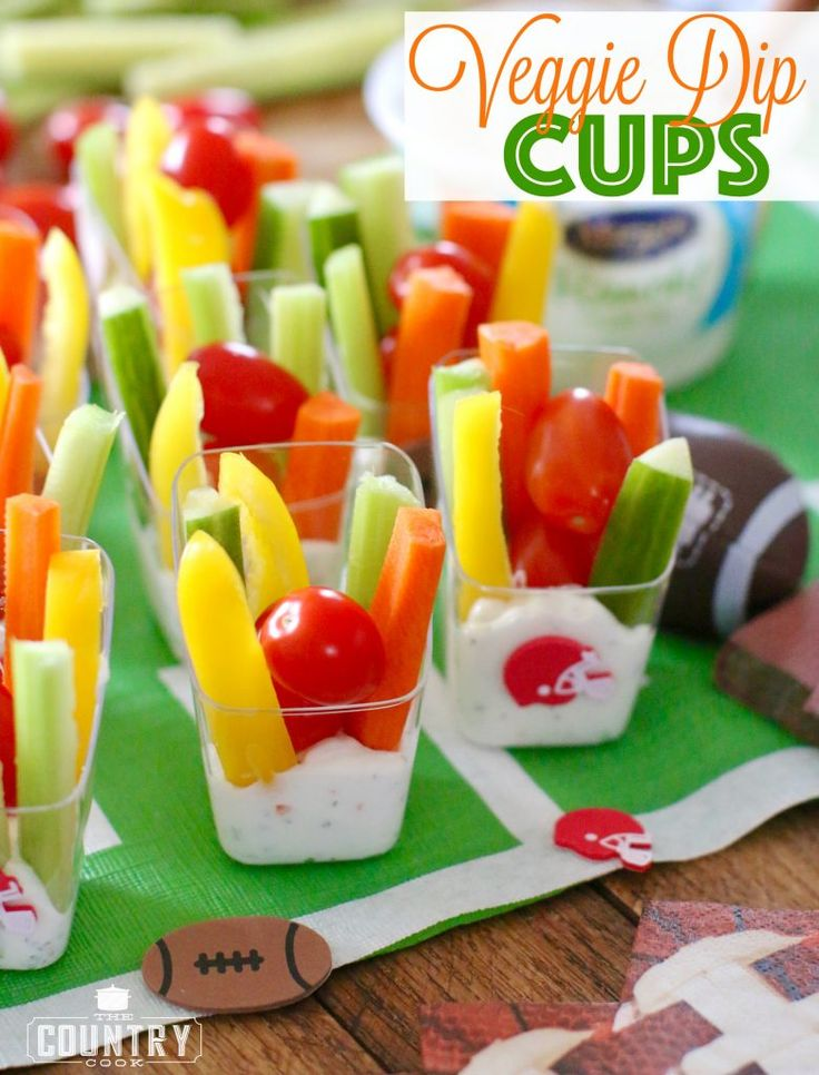 Yum! These Veggie Dip Cups are perfect for kids and adults and are a great way to make sure everyone loves their veggies! #ad