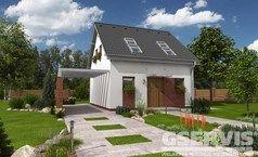 Projekty rodinných domů - stránka 2   GSERVIS