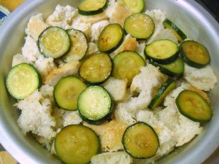 Zucchini Strata | fud_savory | Pinterest