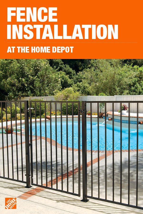 The Home Depot Has Everything You Need For Your Home Improvement Projects Click To Learn More And Shop Available Fencin Pool Patio Pool Fence Pool Landscaping