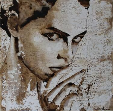 "Saatchi Art Artist Donatella Marraoni; Painting, ""Stop talking"" #art"