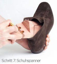 Schuhpflege Anleitung und Tipps zur Pflege von Raulederschuhe im Volksmund auch…