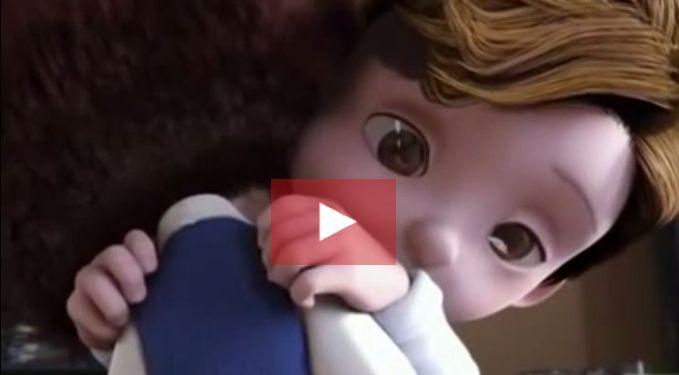 Sobre amor. Curta de 10 minutos sobre uma amizade entre uma menina e um menino com Paralisia Cerebral.