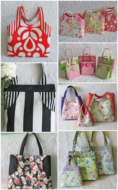 Ready to sew bags that turn heads? Stylish, comfortable, and practical? Bags that will make you proud? Check out this bag pattern bundle that includes 4 bag patterns,5 designs, templates for 11 bags. via @getagrama