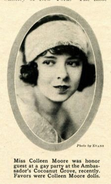 Colleen Moore picture from Screenland 1923