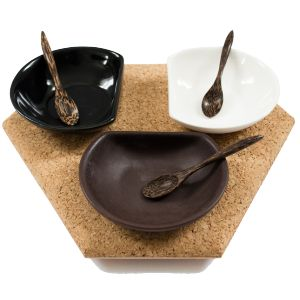 Cork  Board & Partners - Handcrafted. Suitable for snacks and dips. Available at sourced4you.com.au