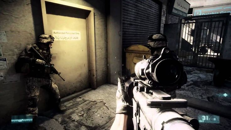 """Battlefield 3"" is a first-person shooter video game developed by EA Digital Illusions CE and published by Electronic Arts. The game was released in North America on 25 October 2011 and in Europe on 28 October 2011. In Battlefield 3‍ '​s campaign, players take on the personas of several military roles: a U.S. Marine, an F-18 weapons system officer, an M1A2 Abrams tank operator, and a Spetsnaz GRU operative."