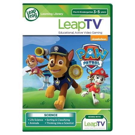 LeapFrog® LeapTV PAW Patrol: Storm Rescuers Educational, Active Video Game : Target