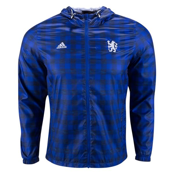 Chelsea 16/17 Windbreaker Jacket | $84.99 | Holiday Gift & Stocking Stuffer ideas for the Chelsea FC fan at WorldSoccerShop.com