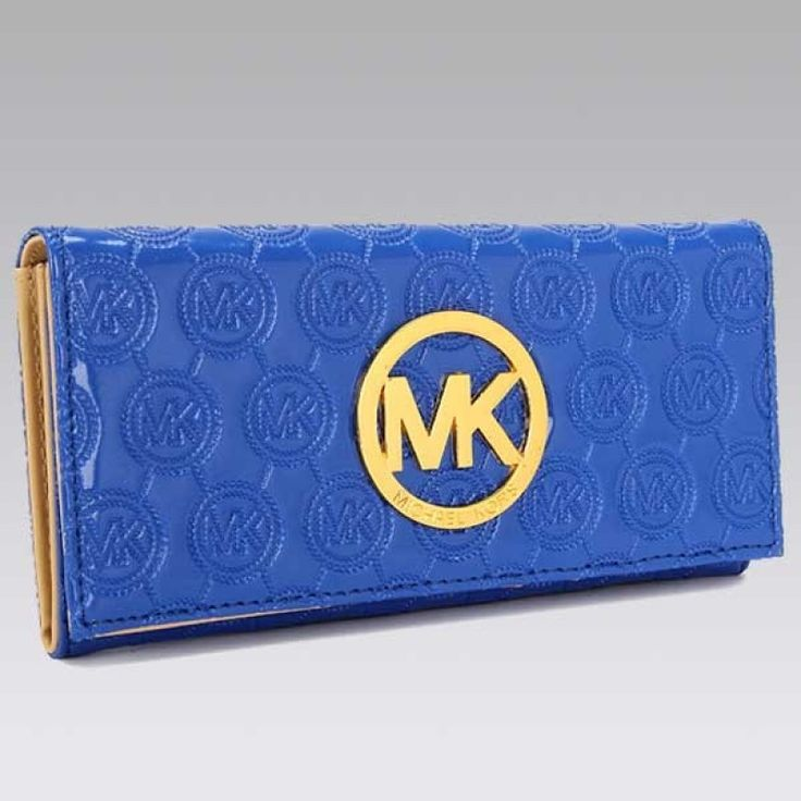MICHAEL Michael Kors Jet Set Continental Dodger blue Wallet