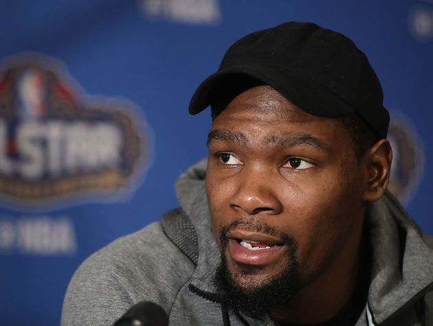 Kevin Durant has only a sprained MCL, not a torn ACL, will be out a month for now