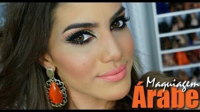 Yaratıcı Renkli Arap Göz Makyajı Uygulaması - Özel günler yada gece için yapabileeğiniz yaratıcı renkli arap göz makyajı tekniği (Camila Coelho Makeup Video)