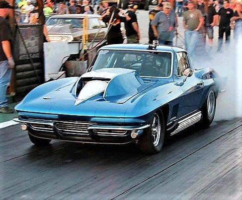 1966 Corvette Gasser | Corvette | Corvette, Classic corvette, Drag cars