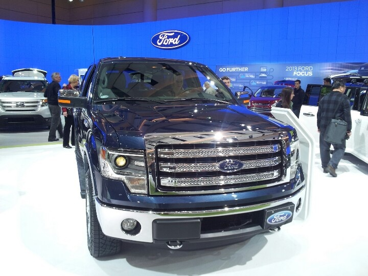 Blue Jeans Ford F-150 at Toronto Auto Show 2013