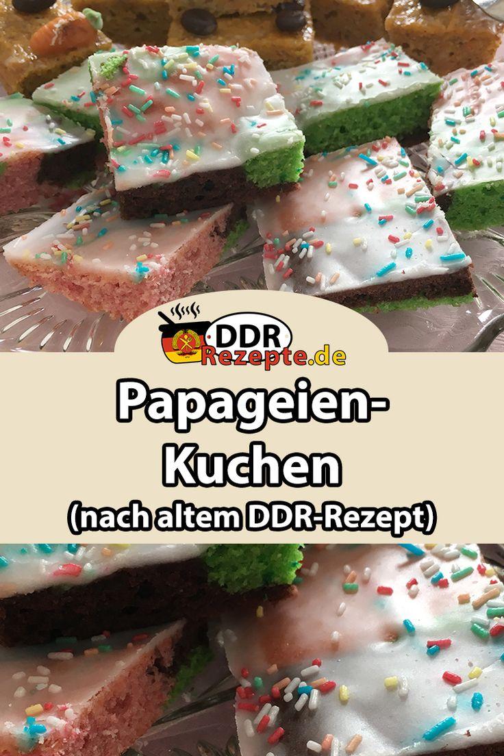 papageienkuchen vom blech � ddr rezepte de rezept
