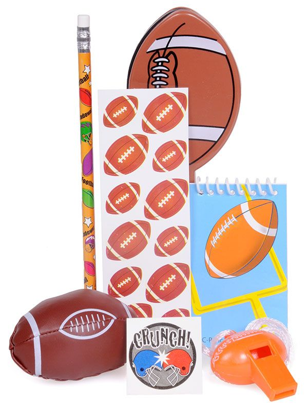 Partypalooza.com Football Goody Bags