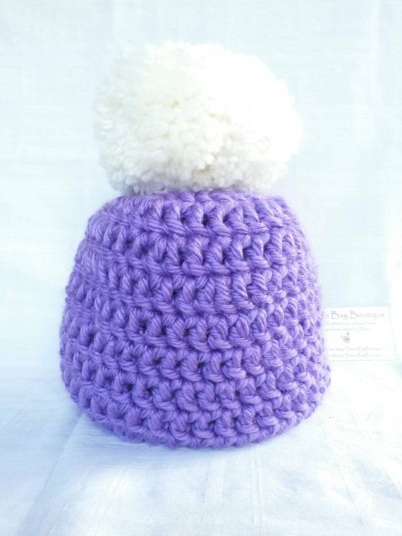 Check out this item in my Etsy shop https://www.etsy.com/uk/listing/251179910/large-pom-pom-hat-pom-pom-hat-beanie-hat