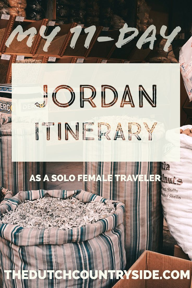 My 11-day Jordan itinerary as a solo female | The Dutch countryside | www.thedutchcountryside.com/my-11-day-jordan-itinerary-as-a-solo-female