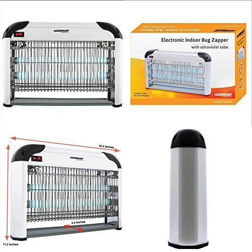 Electronic Insect Killer Home Protection Indoor Outdoor Fly Bug Zapper 20W NEW #ElectronicInsectKillerHomeProtection