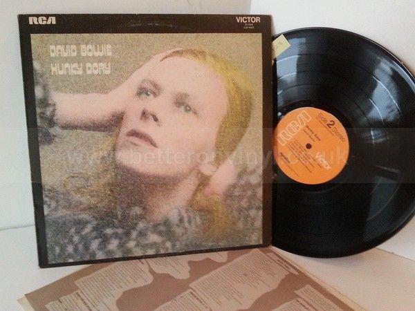 DAVID BOWIE hunky dory, SF 8244, lyric insert - ROCK, PSYCH, PROG, POP, SHOE GAZING, BEAT