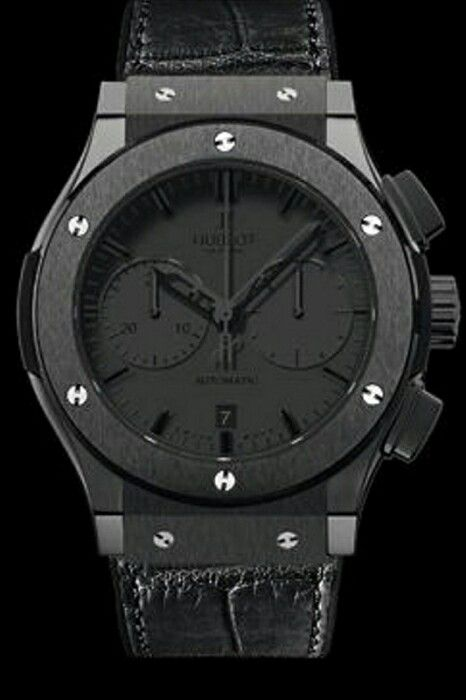 Special edition Hublot chronograph  (blackout)