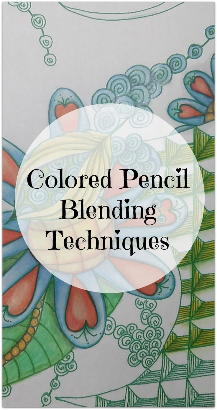 I wasn't getting the nice blended look I was seeing in pencil art I admire, so I popped over to YouTube for tips and techniques ---> http://www.artfuljoyfulyou.com/colored-pencil-blending-methods/ #coloringbook #doodles #coloredpencils