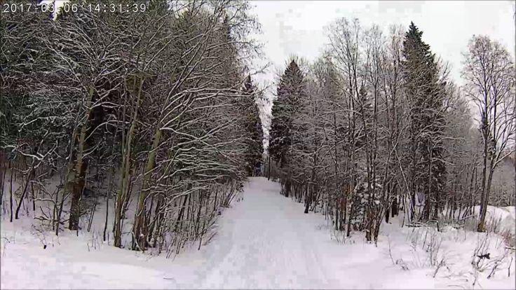 камера Беговые лыжи велик день вечер