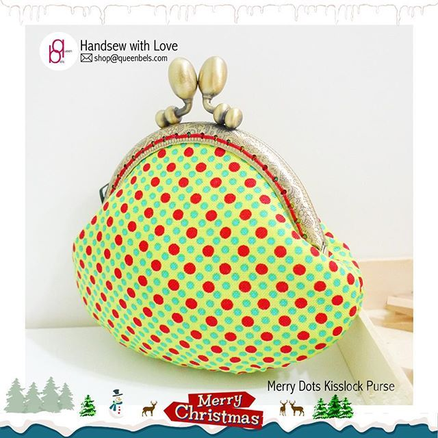 Do You Know?  That you can leave your friend's address in the 'Shipping' section and send her a Christmas surprise? http://www.queenbels.com/collections/made-by-queenbels-kisslock-purse-clutch-bags