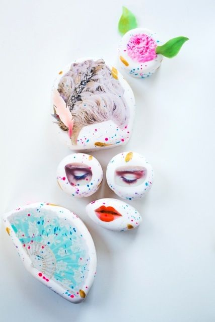#MarieAntoinette #Petitfours, a collaboration between Cake Hero, Camille Becerra and Tara Sgroi.  Watch the video of these lovelies being made!  http://vimeo.com/67323533