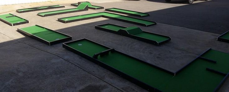 Mini Golf From Castle Capers Jumping Castle Hire check out all the details at http://www.castlecapers.com.au