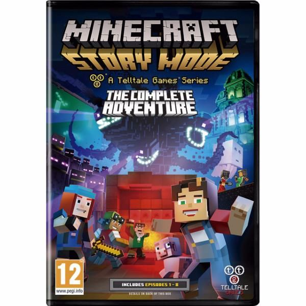 juego ps3 minecraft story mode c. adventure