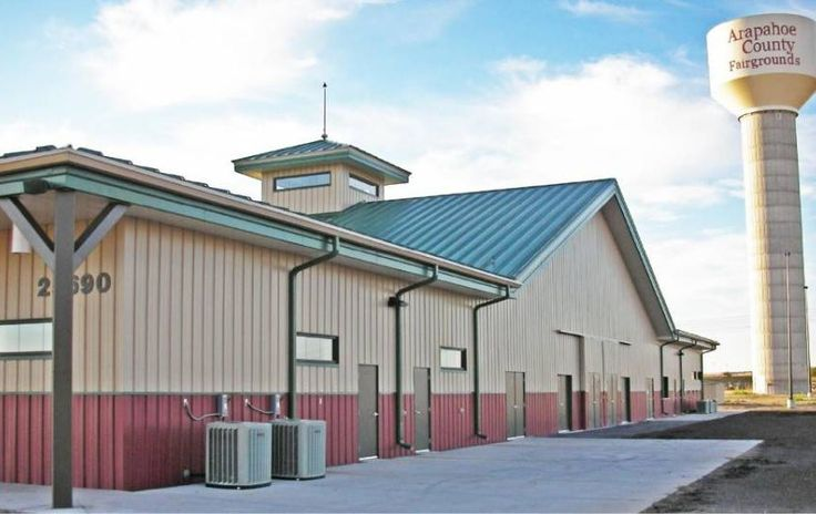 Arapahoe County Fairgrounds Event Center and Livestock Barn in Aurora Colorado - Image by: arapahoegov.com