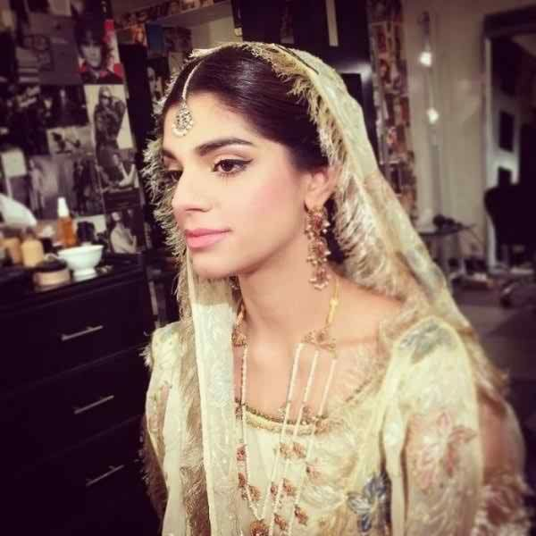 Pakistani Top Model and Actress Sanam Saeed Wedding Pictures