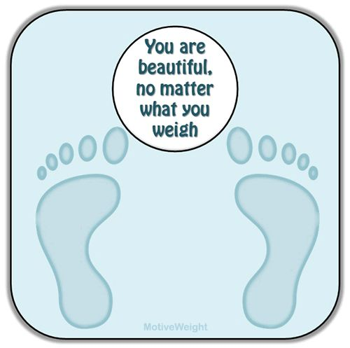 This little video is very true, scales are evil ways of recording weight loss.