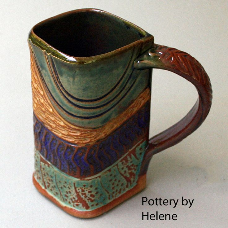601 best hand building images on pinterest cement for Pottery cup ideas