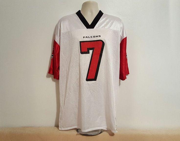 Atlanta Falcons Michael Vick #7 Jersey by Reebok Size XL White #Reebok #AtlantaFalcons