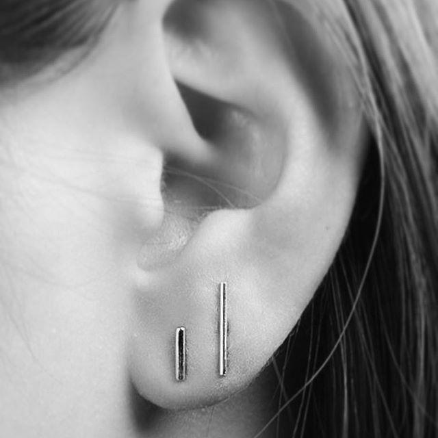 Bar Earrings    www.gmssilver.com
