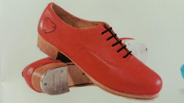Orange  Custom Tap Shoes from So Danca