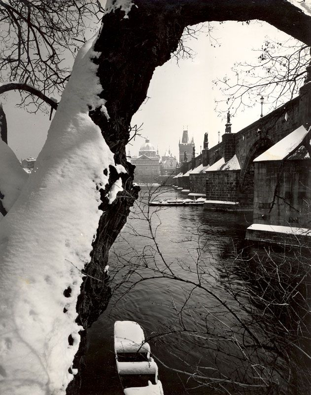 Josef Ehm, Karlův (Charles Bridge-Prague) most, Date Unknown