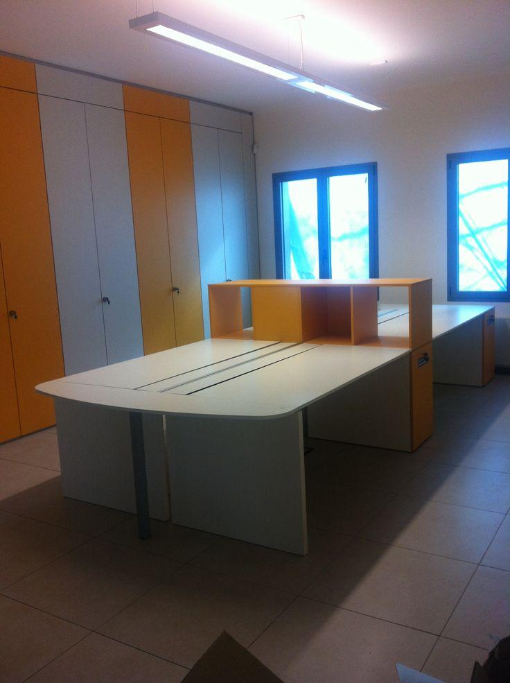 #realizzazione #ufficio #operativo con l'aggiunta di #colore