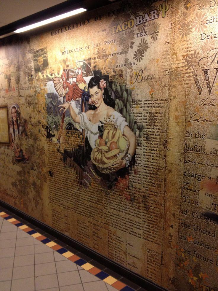 wall art, food court, sodermalm