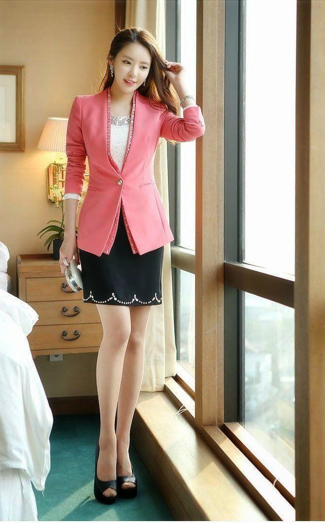 El blazer es una prenda bastante vers til en corea del for Pantalones asiaticos