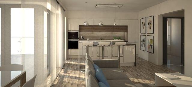 Kuchnia – nowoczesna wizytówka domu.  Fot. Studio Formi