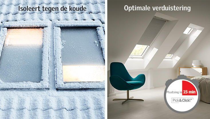 VELUX Gordijnen - Rolgordijnen, verduisterend rolgordijnen & zonwering - VELUX Raamdecoratie