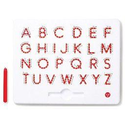 Kid O Tableau Magnétique de l'Alphabet en Majuscule de KidO/KidO A-Z Upper Case Magnatab