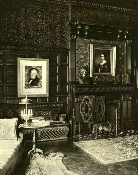 William H. Vanderbilt Mansion library