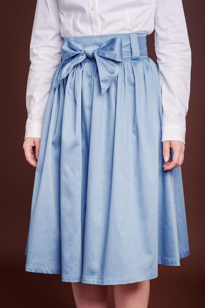 Spódnica Malva niebieska