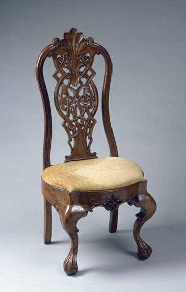 El estilo de muebles chippendale sillas y sillones for Sillones clasicos ingleses