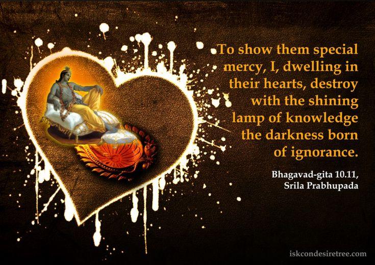 Lord Krishna on Special Mercy   Bhagwad Gita