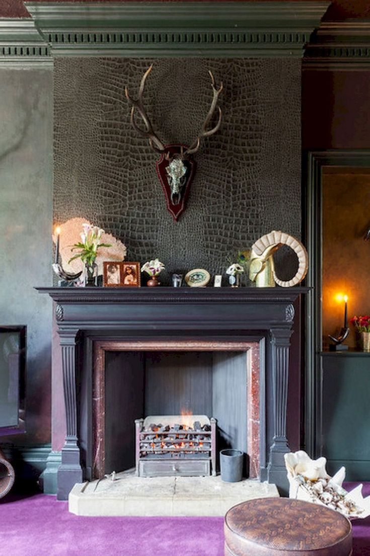 52+ Mervelous Fireplace Ideas Makeover Eclectic
